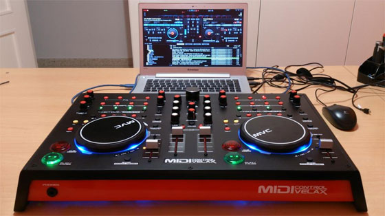MIDIVELAX: Controlador MIDI basado en Arduino