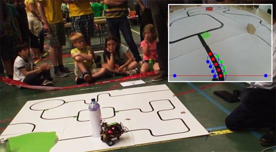 Robot sigue líneas con reconocimiento de imagen OpenCV