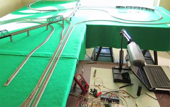 Modelismo ferroviario controlado con Raspberry Pi