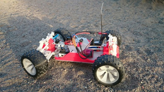 OpenRC: Un Coche RC Open Source impreso en 3D