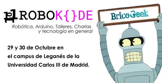 RoboKode 2014: Robótica, Electrónica y Tecnología en Madrid