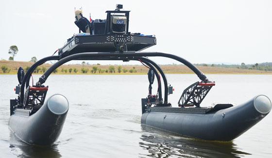 Competición internacional de robótica marina de Singapur