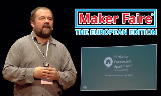 Conferencia de Massimo Banzi en la Maker Faire Rome 2014