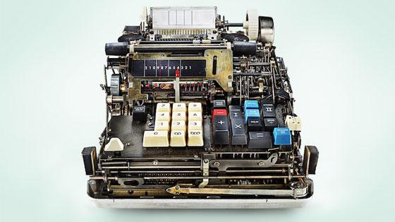 Calculadoras mecánicas al descubierto