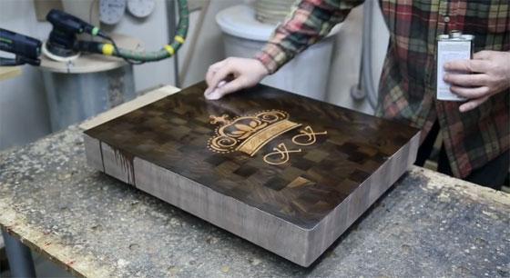 Haciendo objetos de madera elegantes