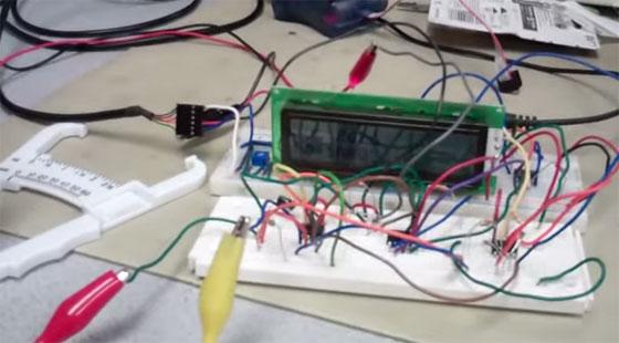 Calculando la grasa corporal con un microcontrolador
