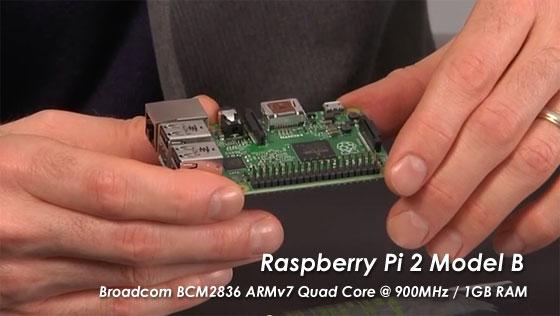 Eben Upton presenta la nueva Raspberry Pi 2 Model B