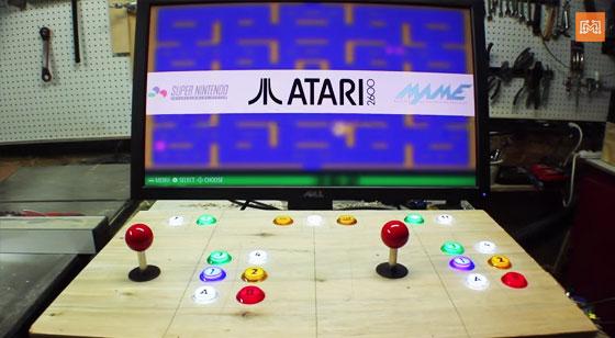 Como hacer una máquina Arcade sin soldar ni programar