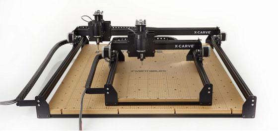 Inventables presenta su nueva máquina CNC X-Carve