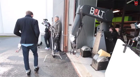 BOLT: El brazo robot hecho para slow motion