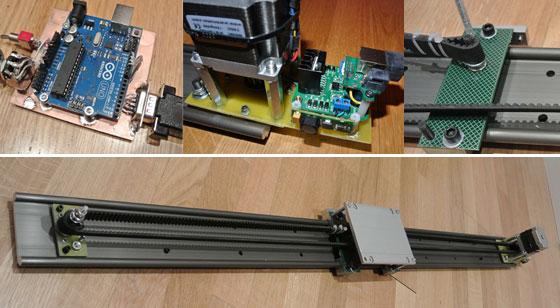 Carril motorizado casero para Time Lapse con Arduino