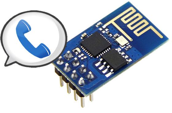 Llamadas de voz y SMS con ESP8266