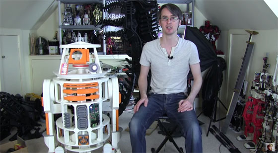 El R2D2 casero de James Bruton - Parte 12