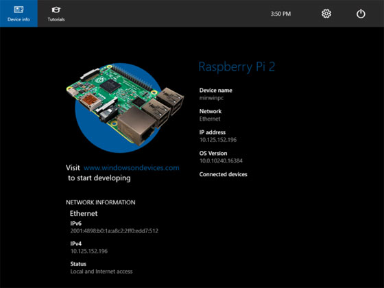 Cómo instalar Windows 10 IoT en la Raspberry Pi 2