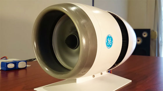 Turbina de Boing 787 impresa en 3D y funcional