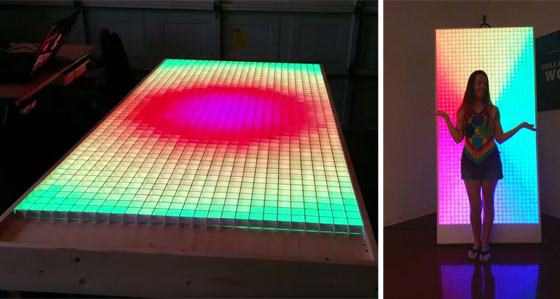 Colossus: Una matriz de LED RGB gigante
