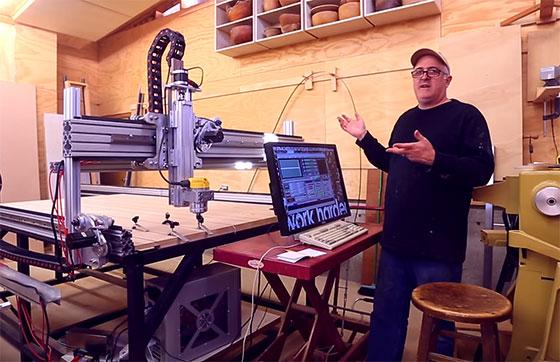 Vídeo: Construyendo una máquina CNC de 2.5 metros