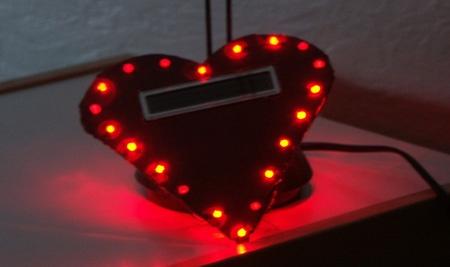 San Valentin: Regala un corazón de hecho con diodos LED