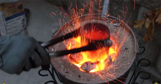 Cómo hacer un horno casero y barato para fundir metal