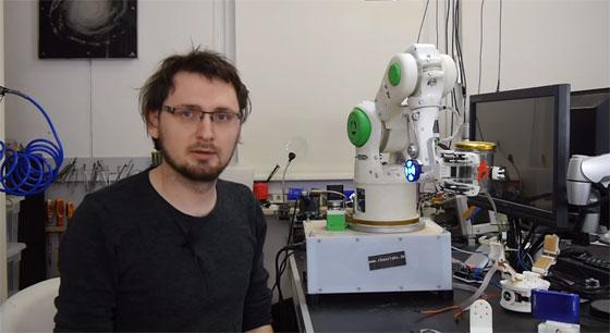 Novedades del brazo robot impreso en 3D de Andreas