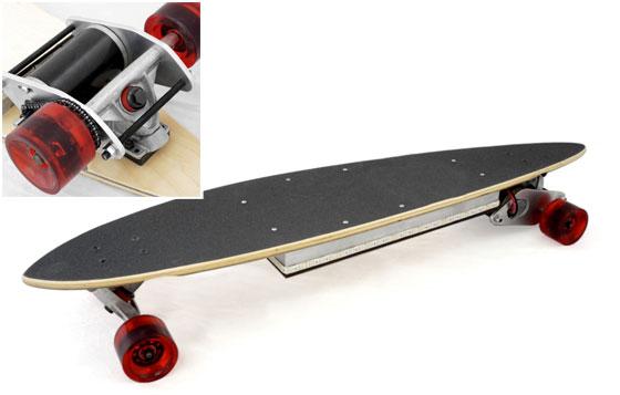 OpenSkate: Un longboard eléctrico casero para todos