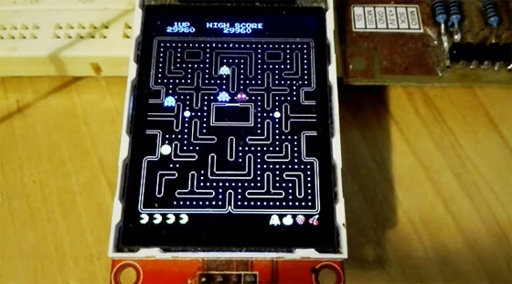 Juego Pac-Man con Arduino DUE