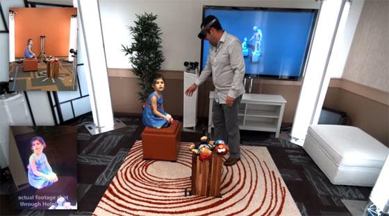 Microsoft holoportation: Realidad virtual en tiempo real