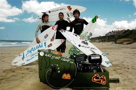 Grinch Art: La máquina de arrastre para de surfear