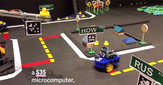 Duckietown: Una plataforma libre para coches autónomos con Raspberry Pi