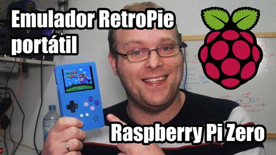 Emulador SNES Portátil RetroPie con Raspberry Pi Zero