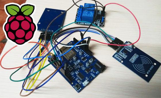CarontePass: Sistema de control de accesos Open Source para Hackerspace con Raspberry Pi y Arduino