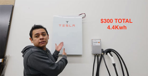 Cómo hacer un Tesla Powerwall casero de 4 KWh