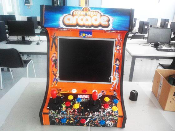 La máquina recreativa de los alumnos de la Salle Mollerussa