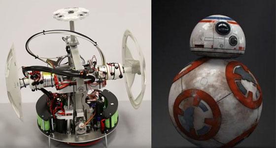 Cómo funciona por dentro el verdadero robot BB-8