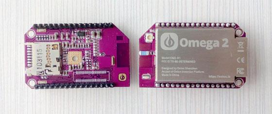 Omega 2: El ordenador Linux de 5 dólares