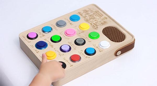 Button Factory es un secuenciador de sonido con una caja muy elegante