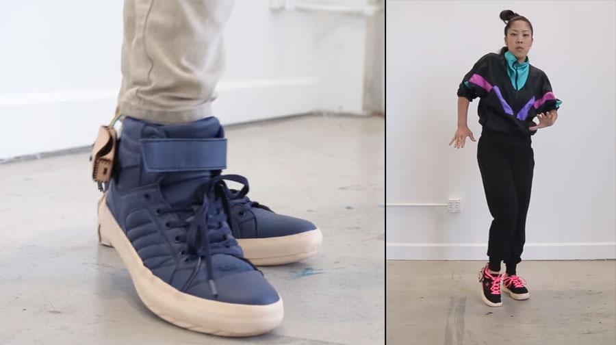 Cómo hacer unas zapatillas musicales con bluetooth