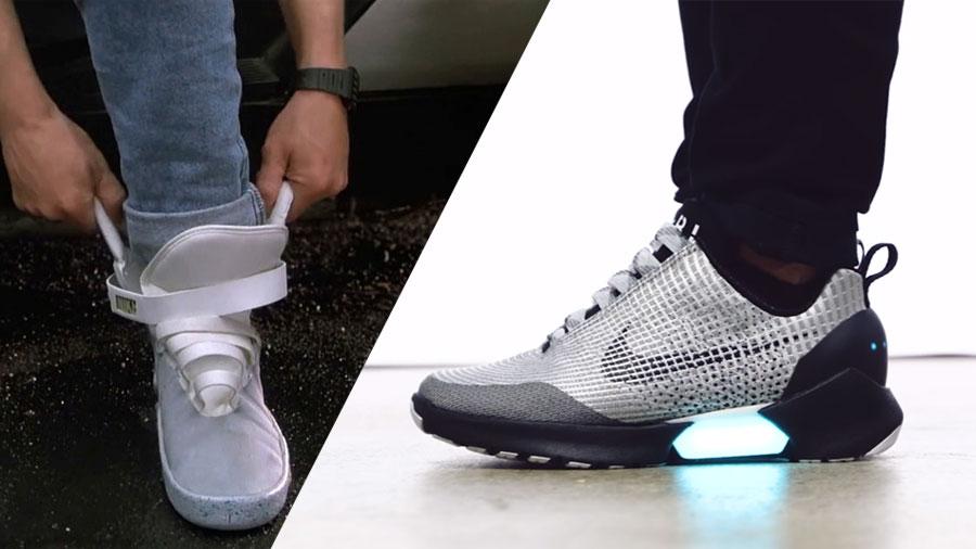 HyperAdapt son como las zapatillas de Marty McFly que se atan solas
