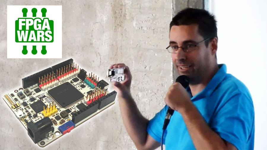 FPGAWars: Explorando el lado libre de las FPGAs por Juan Gonzalez Obijuan