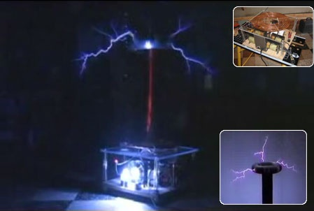 (Video DIY) Construir una Tesla Coil de un millon de voltios