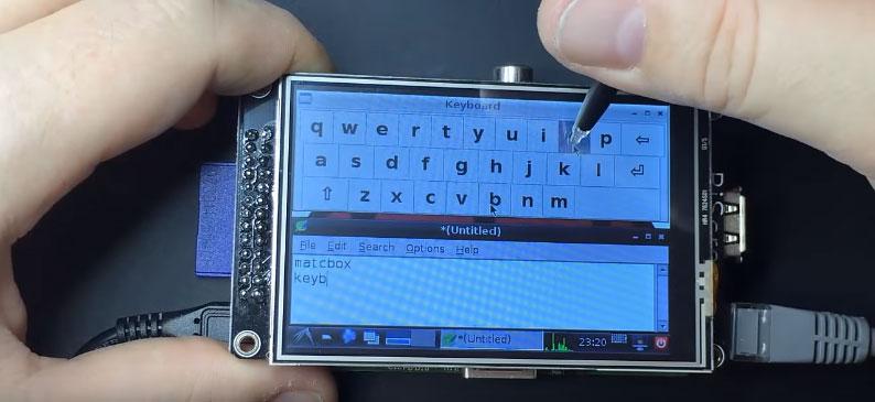 Como añadir un teclado virtual a Raspberry Pi