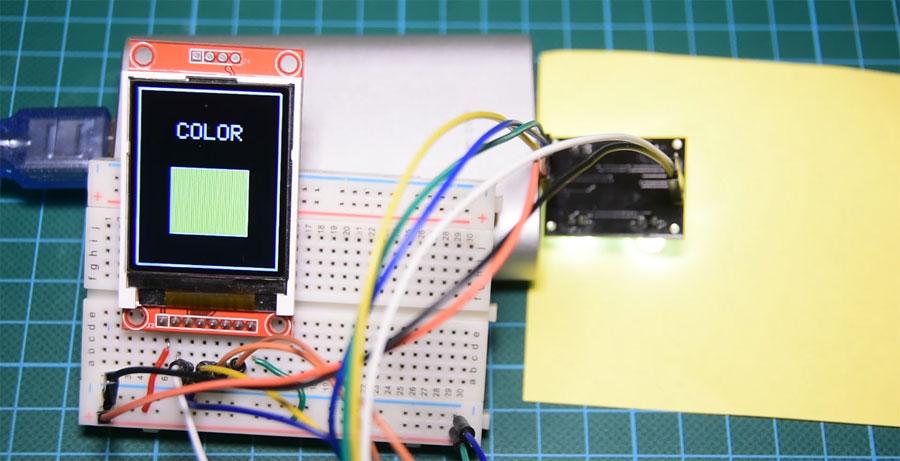 Cómo utilizar un sensor de color TCS3200 con Arduino