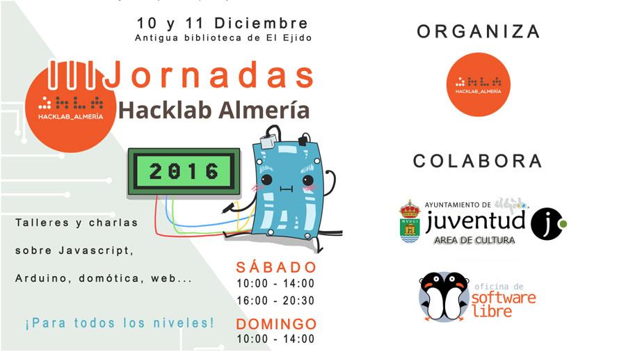 Jornadas Hacklab Almería 2016
