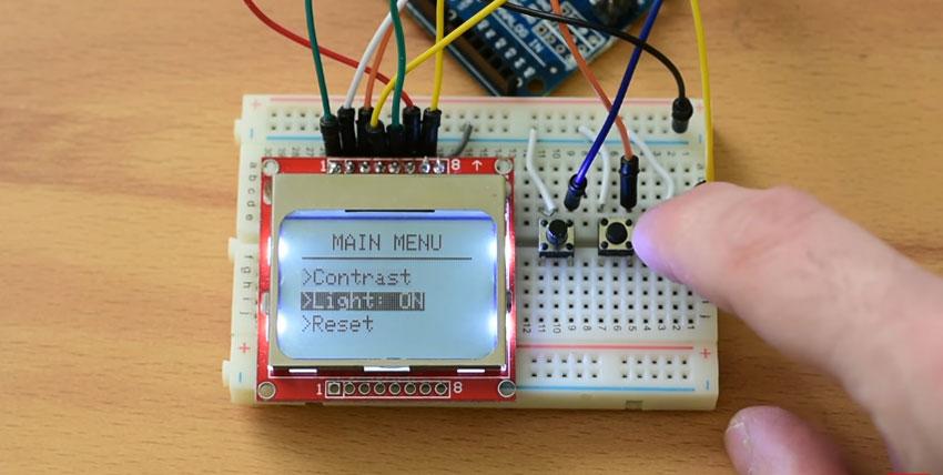 Cómo hacer un menú para LCD con Arduino