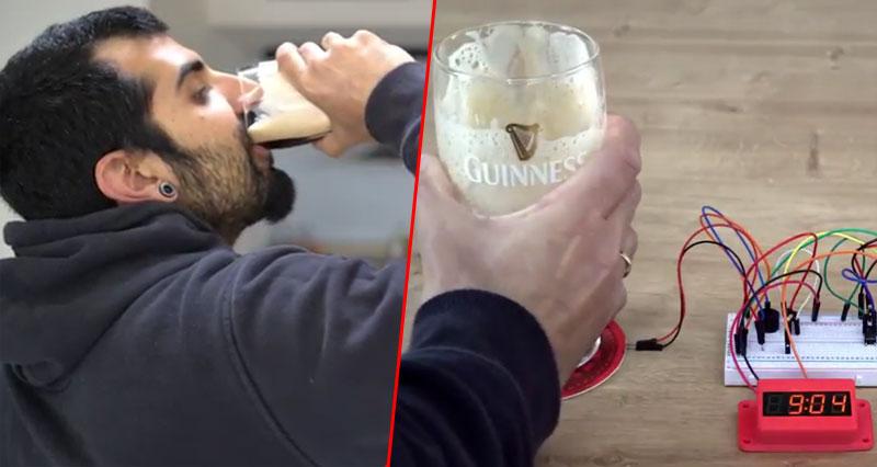 Mide cómo de rápido bebes una cerveza con Arduino