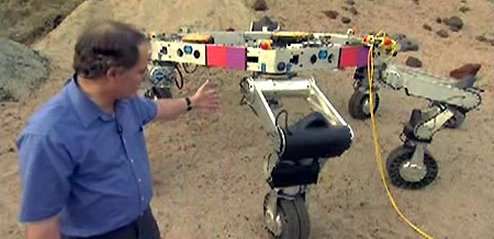 (Video) NASA Athlete: El robot hexápodo todo terreno