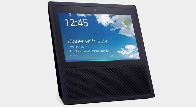 Amazon presenta su nuevo asistente Echo Show con pantalla táctil