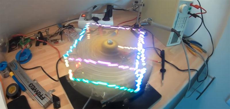 Display POV RGB en 3D
