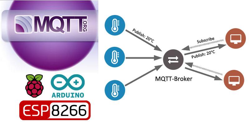 Tutorial MQTT con Raspberry y ESP8266 para Arduino