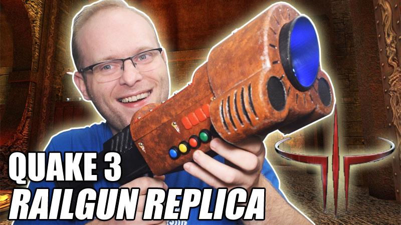 DIY QUAKE 3 Railgun Replica Prop